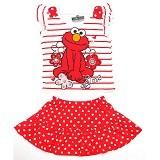 BABYZANIA Sesame Street Dress Elmo 5Y [4153] - Setelan / Set Bepergian/Pesta Bayi dan Anak