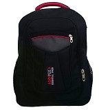 BAG & STUFF Campus Combi Backpack Laptop - Hitam(Merchant) - Notebook Backpack