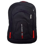 BAG & STUFF Campus Double Backpack Laptop - Hitam (Merchant) - Notebook Backpack