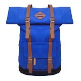 BAG & STUFF Himalayan Grande Ransel Laptop - Biru (Merchant) - Notebook Backpack