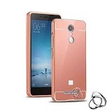 BAKULANS Bumper Metal Case for Xiaomi Redmi 2/2S - Rose Gold (Merchant) - Casing Handphone / Case