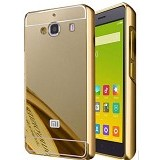 BAKULANS Bumper Mirror for Xiaomi Redmi 2/2S - Gold (Merchant) - Casing Handphone / Case