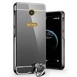 BAKULANS Metal Bumper Case Mirror for Infinix Note X600 (Merchant) - Casing Handphone / Case