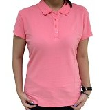 BALENO Mini Polo Size L - Salmon Rose - Polo Wanita