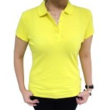 BALENO Mini Polo Size M - Butter Yellow - Polo Wanita