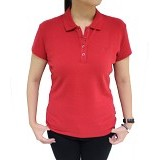 BALENO Mini Polo Size M - Red Ochre - Polo Wanita