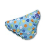 BAMBINO MIO Resuable Swimnappy Small - Blue Spots - Cloth Diapers / Popok Kain