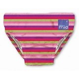 BAMBINO MIO Resuable Swimnappy Small - Pink Spots - Cloth Diapers / Popok Kain