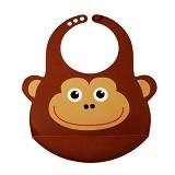 BAMBOO STUDIO Kids Studio Bib Monkey [BS-monkey] - Celemek Bayi / Bib