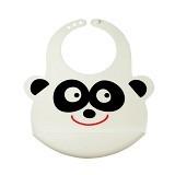 BAMBOO STUDIO Kids Studio Bib Panda [BS-panda] - Celemek Bayi / Bib