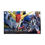 BANDAI RG MSZ-006 Zeta Gundam Model Kit (Merchant) - Movie and Superheroes