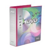 BANTEX DVD Binder 2 Ring 40mm [8541-61] - Grape - CD/DVD Case