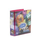 BANTEX DVD Binder 2 Ring 40mm [8541-63] - Melon - CD/DVD Case