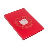 BANTEX Display Book Hello Kitty 40 Sheets Folio [3185A09HK] - Red - Clear Holder