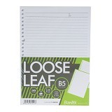 BANTEX Loose Leaf Paper B5 26 Holes 80gsm 50 Sheets [8600-00] - Loose Leaf