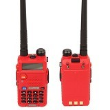 BAOFENG Handy Talky Dual Band [UV-5R] - Red (Merchant) - Handy Talky / Ht