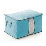 BARUZI Bamboo Storage Box large size - Blue (Merchant) - Container