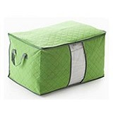 BARUZI Bamboo Storage Box small size - Green (Merchant) - Container