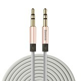 BASEUS Fluency Series AUX Audio Cable 1.2M - Rose Gold (Merchant) - Cable / Connector Analog