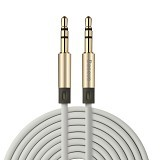 BASEUS Fluency Series AUX Audio Cable 2M - Luxury Gold (Merchant) - Cable / Connector Analog
