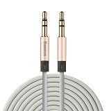BASEUS Fluency Series AUX Audio Cable 2M - Rose Gold (Merchant) - Cable / Connector Analog