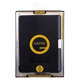 BASEUS Nappa Case Apple iPad Air [LTAPIPAD5-TS01] - Black - Casing Tablet / Case