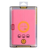 BASEUS Nappa Case Apple iPad Mini 1/2/3 [LTAPMINI2-TS04] - Pink - Casing Tablet / Case