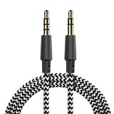 BASEUS Sing AUX Audio Cable [B35] - Black (Merchant) - Cable / Connector Analog