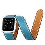 BASEUS Sunlord Series Watchband 42mm for Apple Watch - Blue - Casing Smartwatch / Case