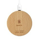 BASEUS Swood Wireless Charger for Smartphone (Merchant) - Charger Handphone