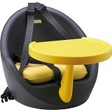 BEABA Baby Booster [3 38434 915007 5] - Grey Yellow - Baby Highchair and Booster Seat