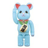 BEARBRICK 400% Maneki Neko Glow - Movie and Superheroes