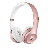 BEATS™ BY DRE™ Solo3 Wireless On-Ear Headphones [MNET2ZA/A] - Rose Gold - Headphone Portable