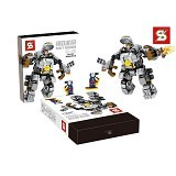 BELA MK 1 Ironman [305002305] - Building Set Movie