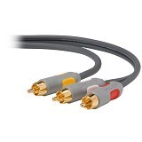 BELKIN AV Master Series Audio Video Cable 1.8m / 6-Feet (Merchant) - Cable / Connector Rca