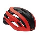 BELL Event Road Block Helmet Size L - Matte Infrared Black (Merchant) - Helm Sepeda