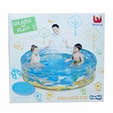 BESTWAY Transparent Sea Life Pool PlayMax [12271] - Kolam Renang Portable