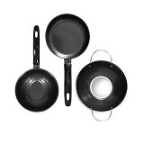 BIG J Cookware Set 3 pcs (Merchant) - Penggorengan / Frypan