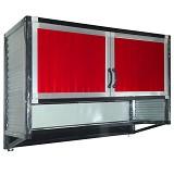 BINA KARYA Kitchen Set Full Aluminium Gantung + Rak Bumbu - Rak Piring