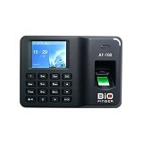 BIO-FINGER Mesin Absensi [AT-100] - Black (Merchant) - Mesin Absensi Digital Standalone