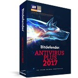 BITDEFENDER Antivirus Plus 2017 1 years 5 pc (Merchant) - Software Antivirus Licensing
