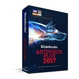 BITDEFENDER Antivirus Plus 2017 2 Year 1 PC (Merchant) - Software Security Licensing