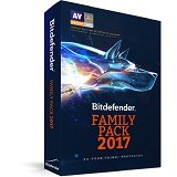 BITDEFENDER Family Pack 2017  20 PCs 1 Year (Merchant) - Software Antivirus Licensing