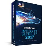 BITDEFENDER Internet Security 2017 1 year 10 pc (Merchant) - Software Security Licensing