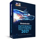 BITDEFENDER Internet Security 2017 1 year 3 pc (Merchant) - Client Software Antivirus Fpp