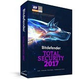 BITDEFENDER Total Security 2017 1 PC 1 year (Merchant) - Software Security Licensing