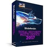 BITDEFENDER Total Security 2017 Multi Device 10 PC 1 year (Merchant) - Client Software Antivirus Fpp