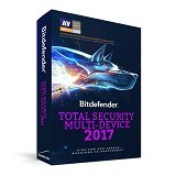 BITDEFENDER Total Security Multi Device 2017 2 Year 5 PC (Merchant) - Software Security Licensing