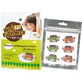 BITE FIGHTERS Botanical Mosquito Patch 12pcs [BFBMP] - Sticker / Spray / Gelang Anti Nyamuk