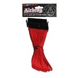 BITFENIX Alchemy ATX 24-Pin Extension 30cm - Red (Merchant) - Modif Spare Part